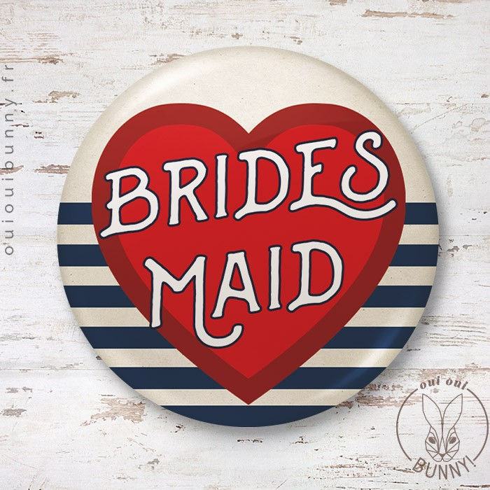 Badge Marin Bridemaids