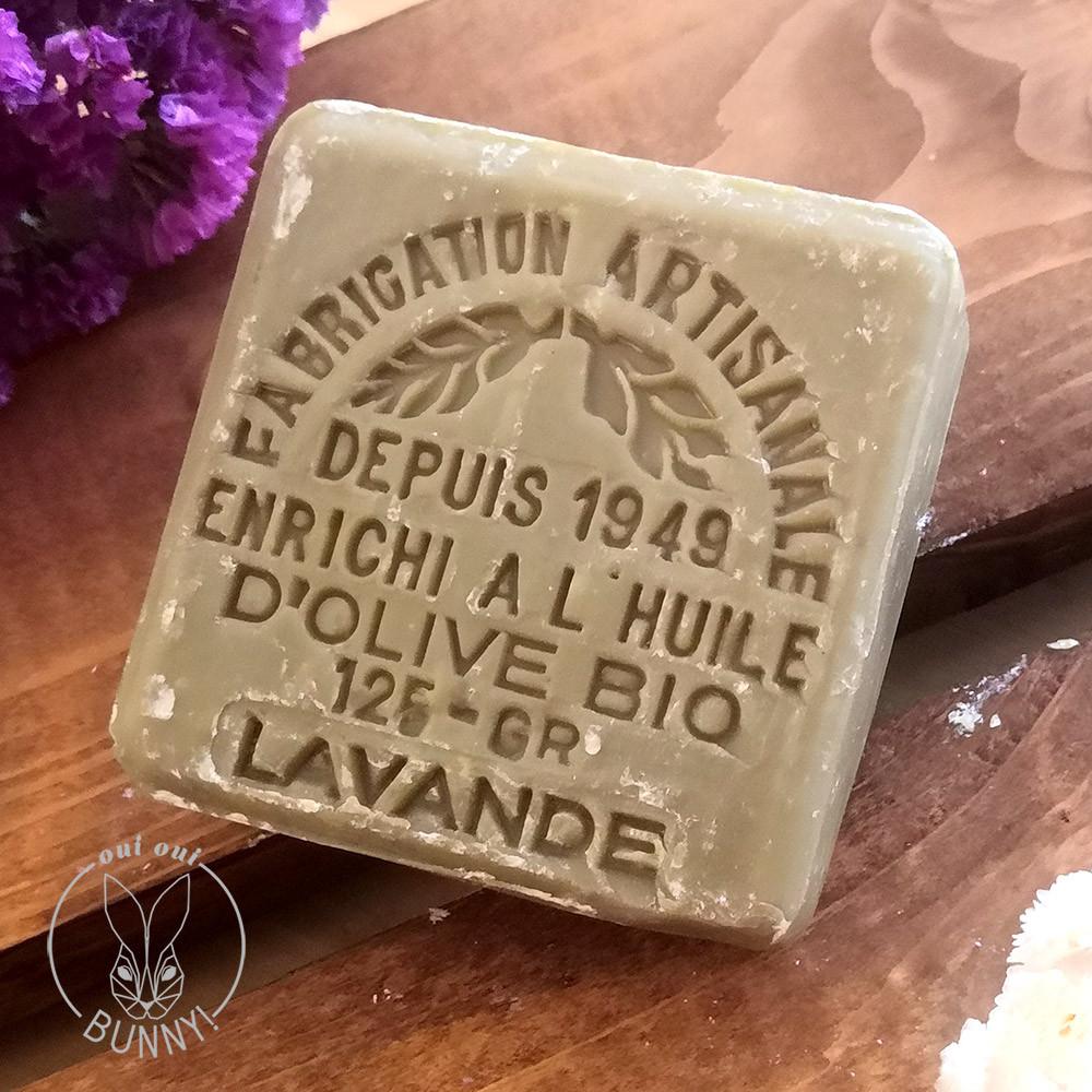 Savon de Marseille, savonnette parfumée à la lavande