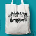 Tote-Bag Tropical personnalisé