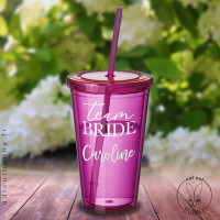 Timbale Team Bride personnalisable