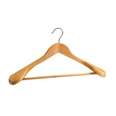 Cintre en bois pour Costume avec barre latérale