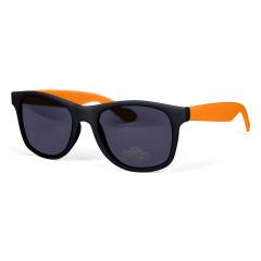 Lunettes de soleil personnalisables Rétro Orange et Noires