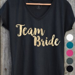 T-shirt Team Bride pour EVJF