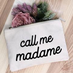Trousse de toilette Call me Madame