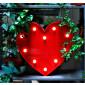 Cœur lumineux rouge