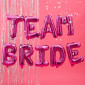 Guirlande de Ballons Team Bride Roses